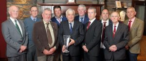 Committee members at the Hereford Society annual dinner. Picture: Cliff Donaldson (See Ivan Haire for full caption)