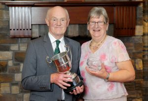 Prize winners with their awards at the Hereford Society annual dinner. Picture: Cliff Donaldson (See Ivan Haire for full caption)